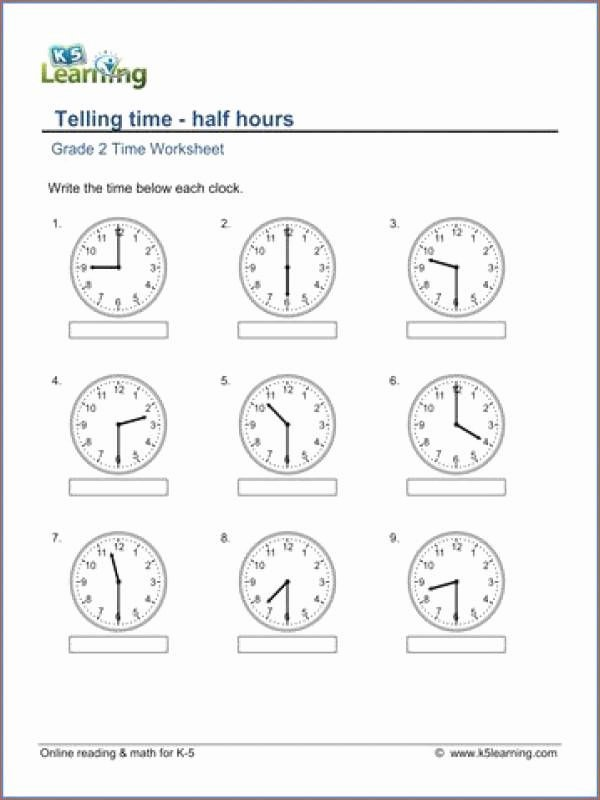 Addition Worksheets with Pictures Clock Time Worksheets