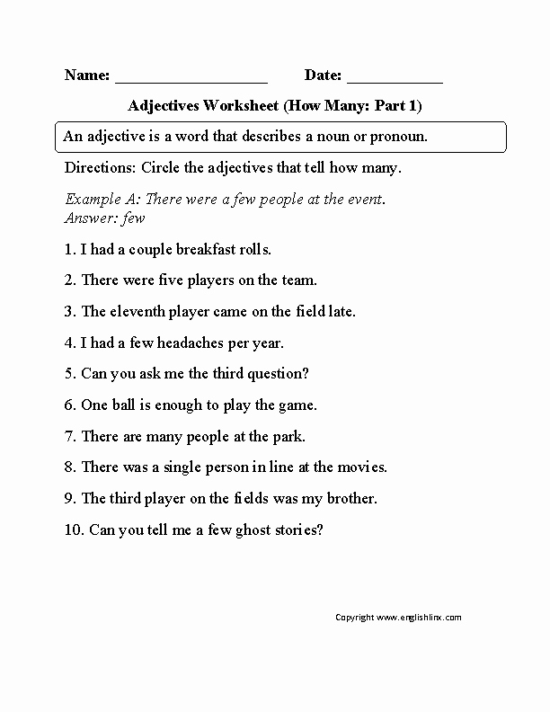 Adjectives Worksheets for Grade 1 Pin On Home Schooling the Kids with My Version Education