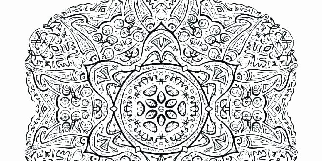 Advanced Geometric Coloring Pages Best Of Detailed Color Pages – Fincaraizvillavicencio