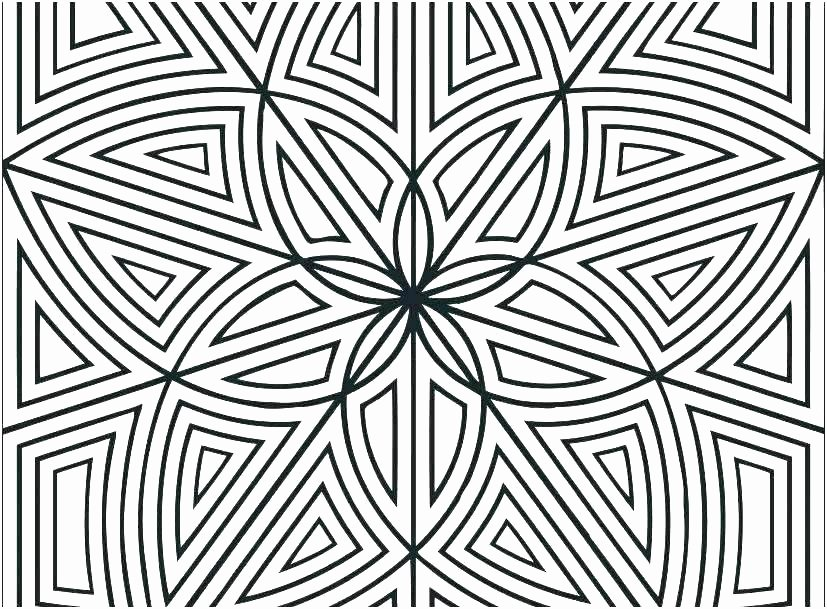 Advanced Geometric Coloring Pages Inspirational Geometric Coloring Pages Pdf