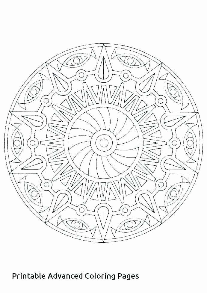 Advanced Geometric Coloring Pages Lovely Detailed Color Pages – Monitorthisfo