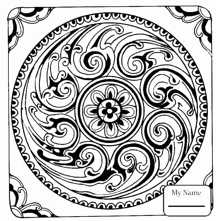 Advanced Geometric Coloring Pages Luxury Coloring Pages Mosaic – thecandlelady