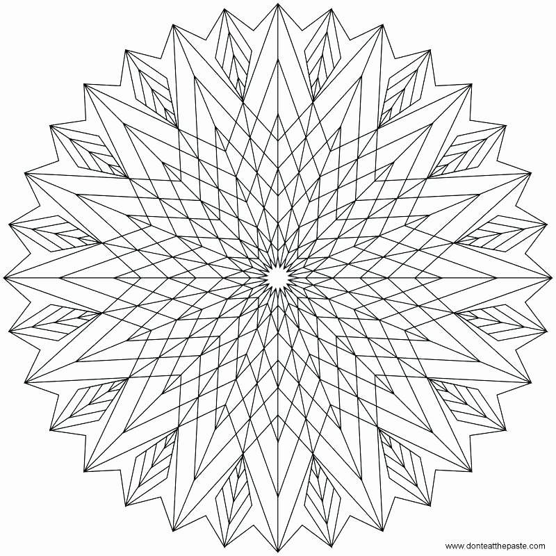 Advanced Geometric Coloring Pages Luxury Geometric Coloring Pages for Kids – Viviendafacilfo
