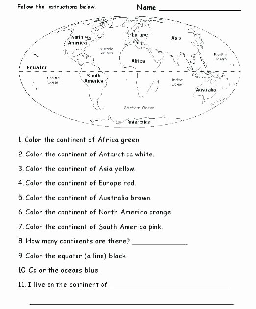 Africa Geography Worksheets Free Geography Worksheet Printable Free Printable Geography