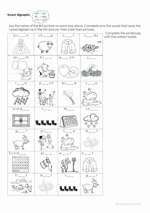 Ai Phonics Worksheet Ai Ay Worksheets and Activities No Prep Ai Phonics T