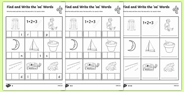 Ai Words Worksheets Ai Phonics Games