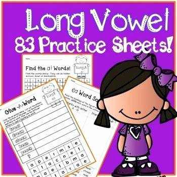 Ai Words Worksheets Long Vowel Pattern Worksheets Ow Free Ai