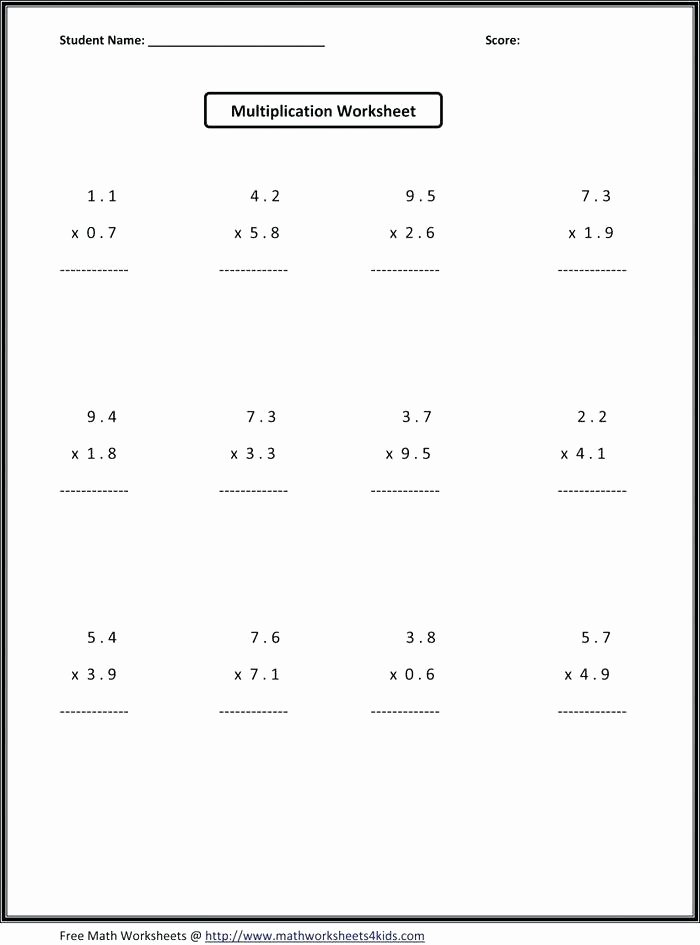 Algebra Tiles Worksheets 6th Grade 7 Grade Math Expressions Worksheets Variables and