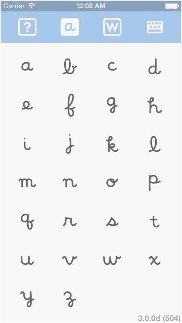 Alphabet Trace Sheets Download 3d Alphabet Letters Template Cv Word Bahasa