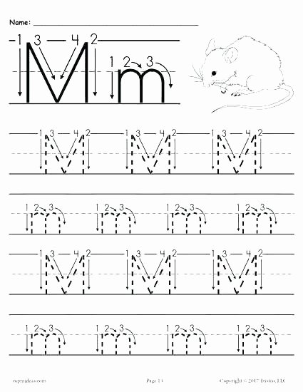 Alphabet Trace Worksheet Free Printable Letter Tracing Worksheets