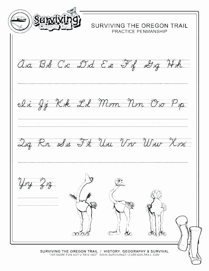 Alphabet Tracing Worksheets Pdf Abc Practice Worksheets Tracing Paper for Kindergarten