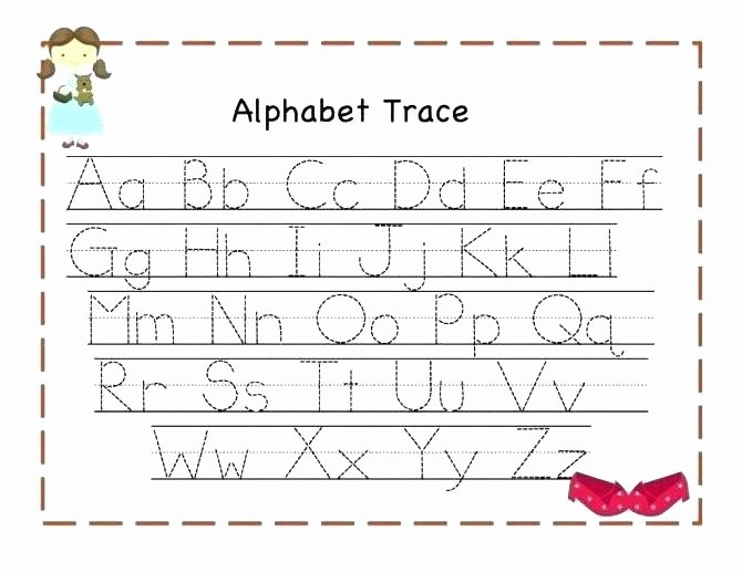 Alphabet Tracing Worksheets Pdf Free Abc Tracing Worksheets