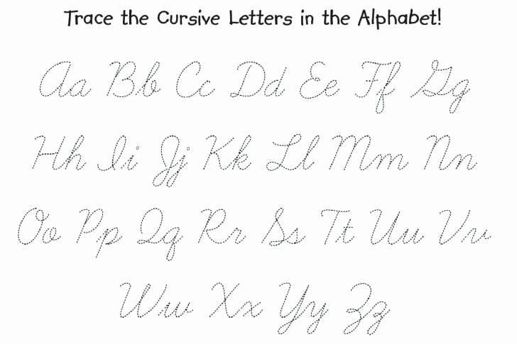 Alphabet Tracing Worksheets Pdf Russian Cursive Practice Sheet Pdf Abc Tracing Alphabet