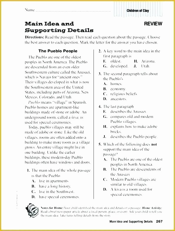 Alphabetical order Worksheets 2nd Grade Main Idea Worksheets Grade Main Idea Worksheets 2nd Grade