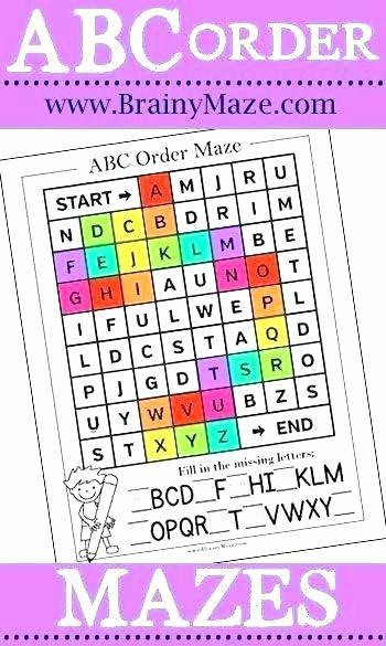 Alphabetical order Worksheets 2nd Grade order Worksheets for First Grade the Best Image Free Alal
