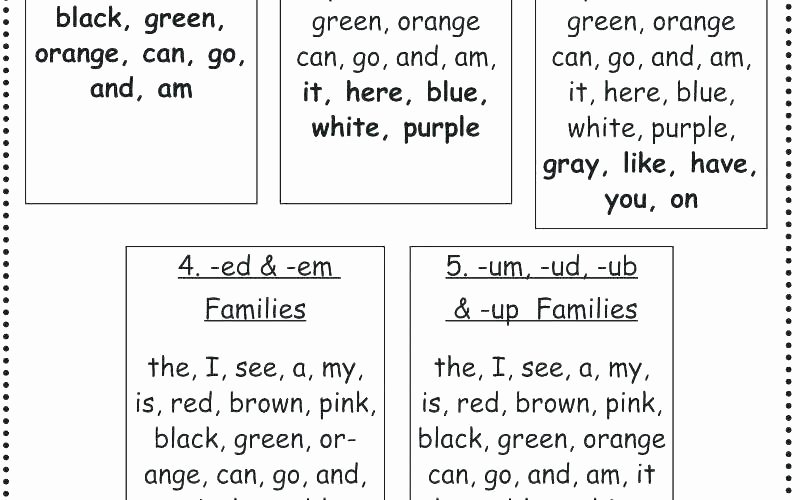 Am Word Family Worksheets Word Family Worksheets Kindergarten Pdf Am Printable Math
