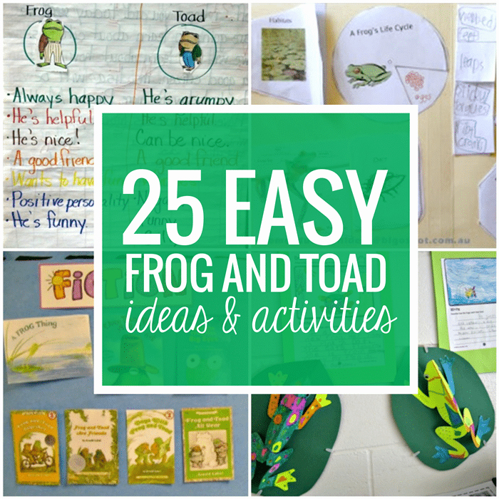 Amphibian Worksheets for Second Grade 25 Easy Frog and toad Ideas and Activities Teach Junkie