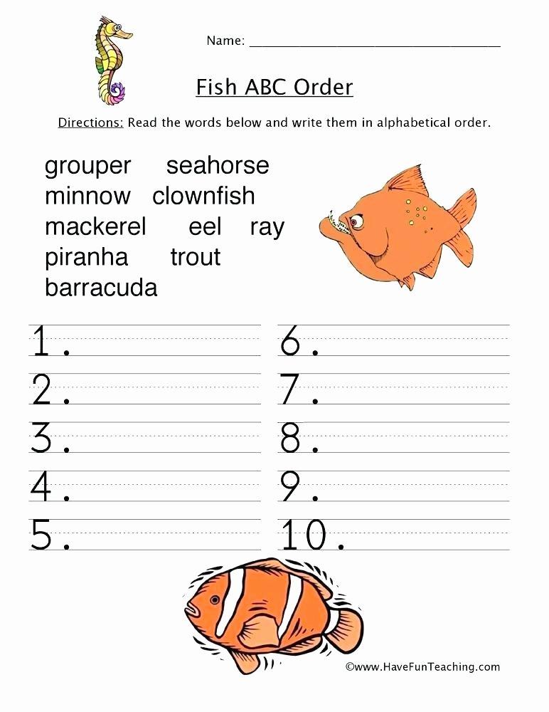 Amphibian Worksheets for Second Grade Put the E Words is order Worksheet Printable Worksheets Word