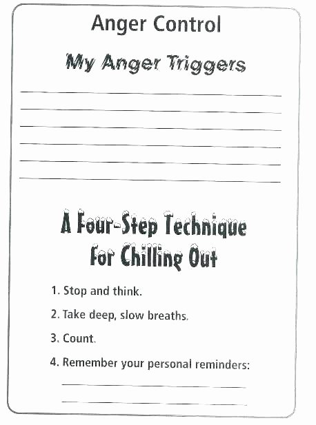 Anger Management Coloring Sheets Fresh Kids Anger Management Activities A Free Printable Coping