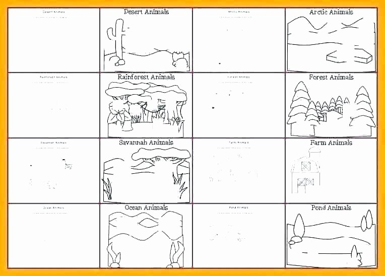Animal and their Habitats Worksheets Desert Habitat Worksheets
