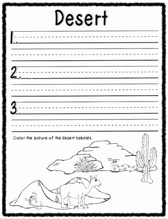 Animal Homes Worksheet Habitats What I Learned Booklet Science