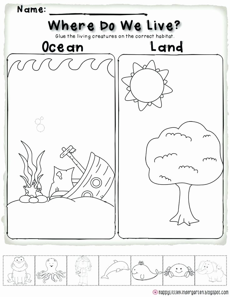 Animals and their Habitats Worksheets 2 Environmental Science Insects Worksheet Class Ii Child