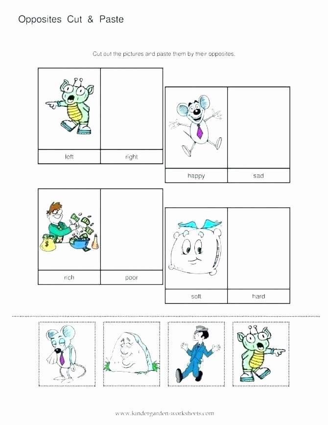 Antonyms Worksheets 3rd Grade Opposites Worksheets Opposite Year 2 Words with