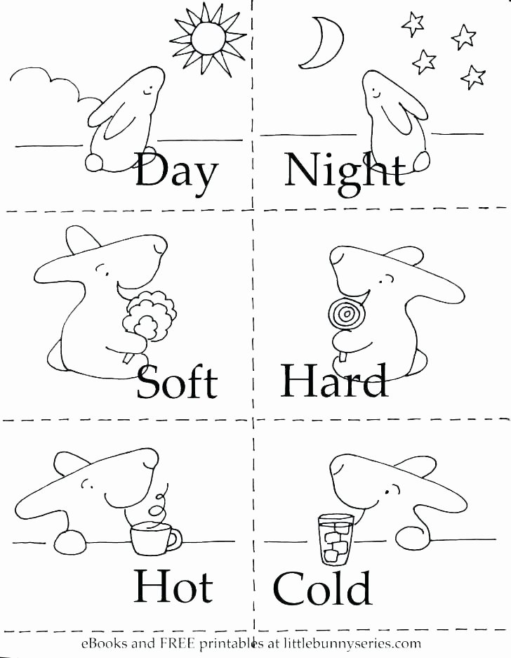 Antonyms Worksheets for Kindergarten Free Matching Worksheets for Preschoolers
