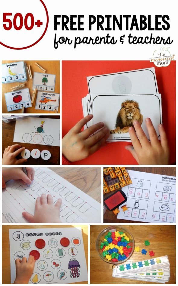 Ap Word Family Worksheets Free Printables the Measured Mom