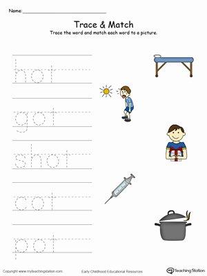 Ap Word Family Worksheets Kindergarten Word Families Printable Worksheets