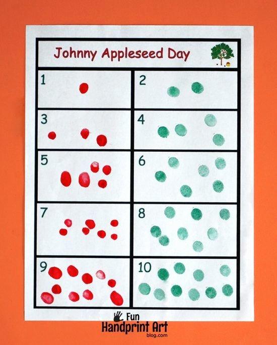 Apple Worksheets Kindergarten Elegant Free Printable Fingerprint Apple Counting Activity for Fall