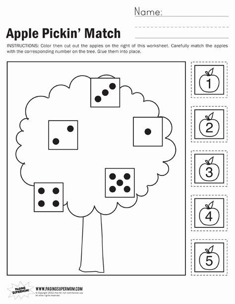 Apple Worksheets Kindergarten Luxury Neptune Beckford Neptunebeckford On Pinterest