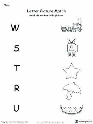 Apple Worksheets Preschool Free Matching Worksheets for Preschoolers