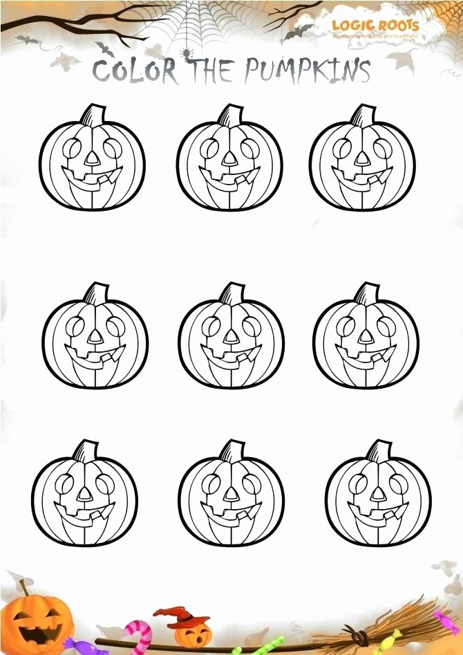Apple Worksheets Preschool Preschool Pumpkin Printables