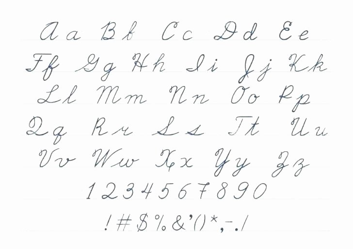 Arabic Alphabet Worksheets Printable Elegant Cursive Alphabet Tracing Pages Small Letters Worksheets