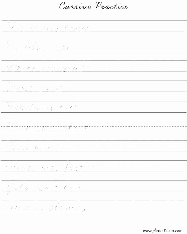 Arabic Worksheets Pdf Teaching Handwriting Worksheets Pdf for Adults Cursive Grade