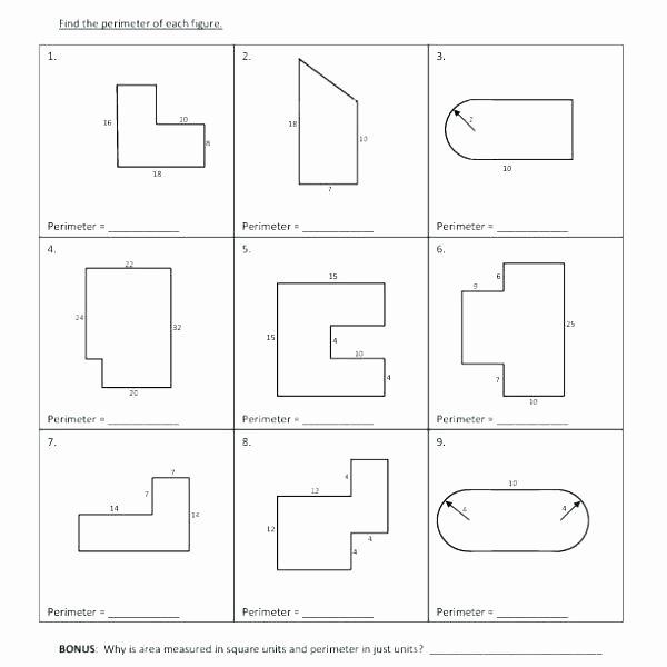 Area Irregular Shapes Worksheet area Worksheets 6th Grade