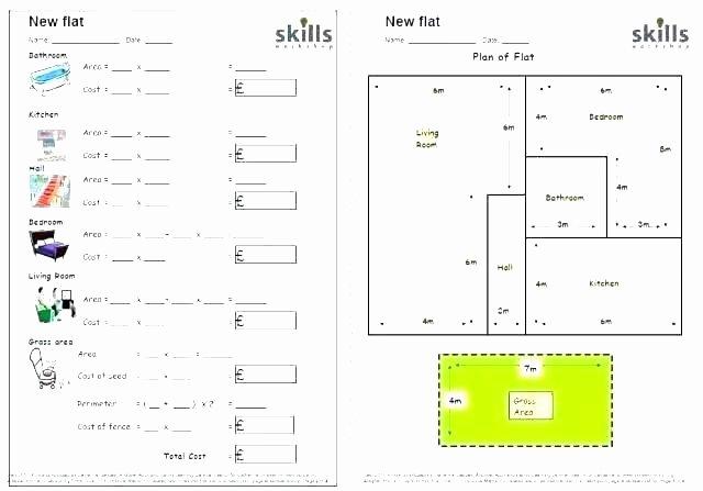 Area Irregular Shapes Worksheet Finding Perimeter Of Irregular Shapes Worksheets