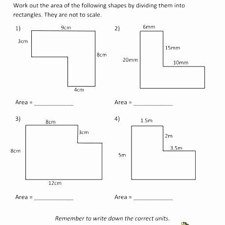 Area Irregular Shapes Worksheet Irregular area Worksheets area Irregular Shapes Worksheet