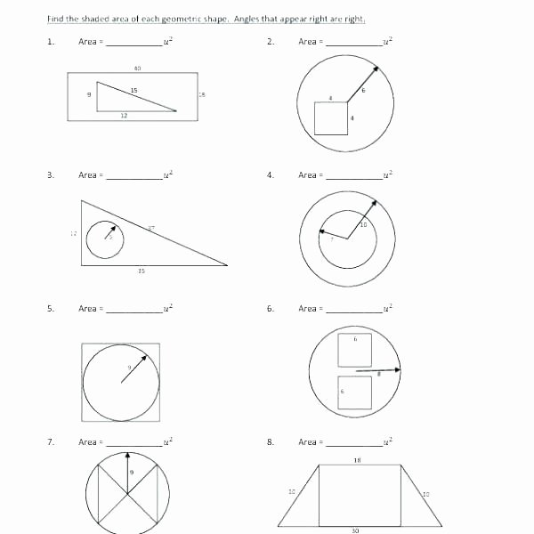 Area Of Compound Shapes Worksheet 6th Grade Surface area Worksheets – Nwpropinspect