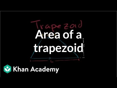 Area Of Compound Shapes Worksheet area Of Trapezoids Video