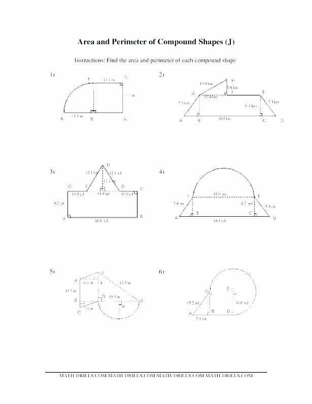 Area Of Compound Shapes Worksheet Simple area Worksheet – Papakambing
