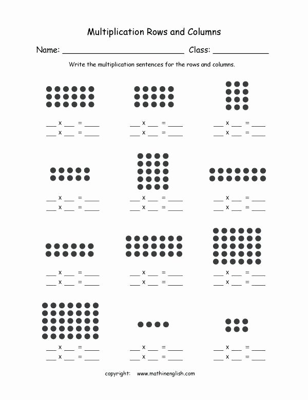 Array Math Worksheets Grouping Worksheets – Trungcollection