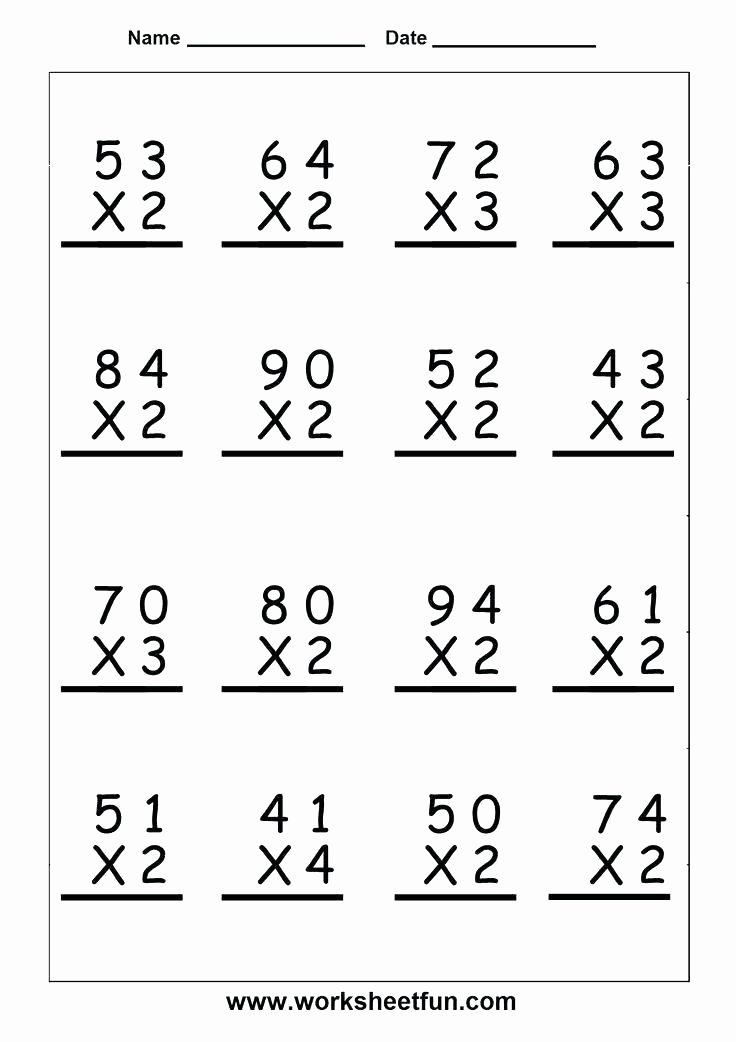 Array Math Worksheets Multiplication Arrays Worksheets Grade 3 Math for
