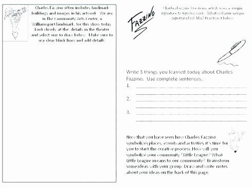 Art Worksheets Middle School Best Of Art History Worksheets for Middle School