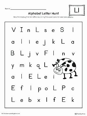 Author Craft Worksheets Awesome First Grade Alphabet Worksheets Letter L Hunt Worksheet is A