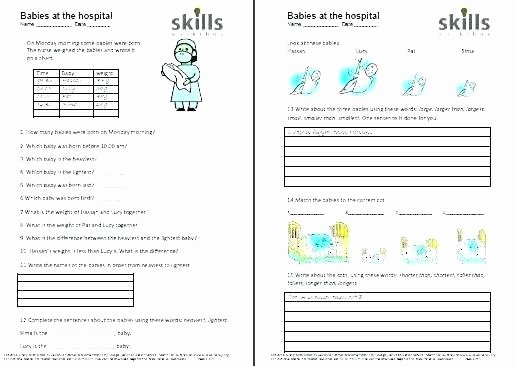 Autism Life Skills Worksheets Munity Safety Skills Worksheets