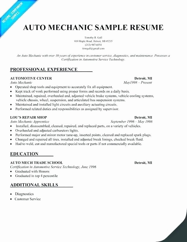 Automotive Math Worksheets Best Of Auto Mechanic Worksheets