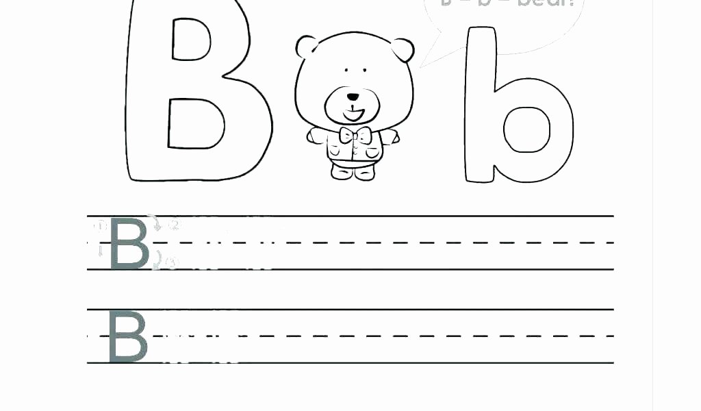 B and D Reversals Worksheets Letter B and D Worksheets