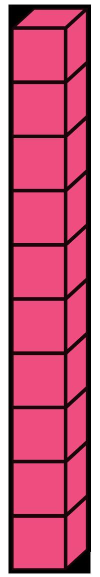 Base 10 Blocks Clip Art Base Ten Blocks Clipart